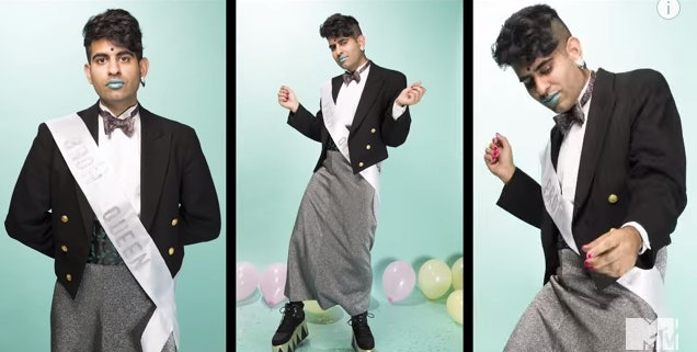 MTV \'A Prom To De-Gender\' Video Celebrates Personal Style That Has ...