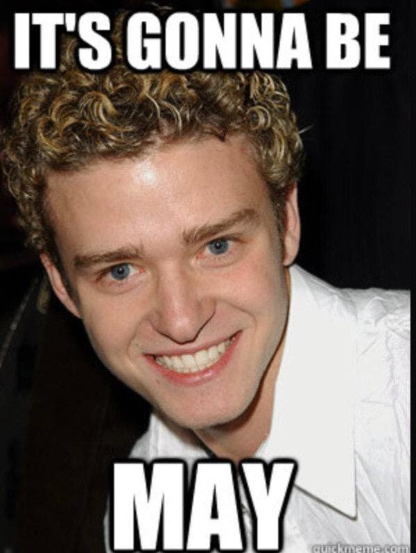 a11c86e0 eee3 0133 2445 0e1b1c96d76b 9 may day memes to make you laugh because justin timberlake