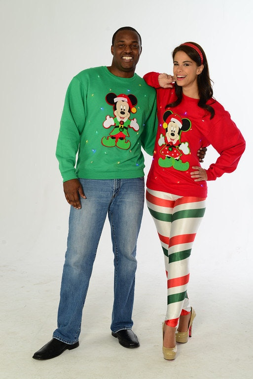 9667cad504 7 Matching Ugly Sweaters For Couples To Make You Stand Out At Holiday  Parties — PHOTOS
