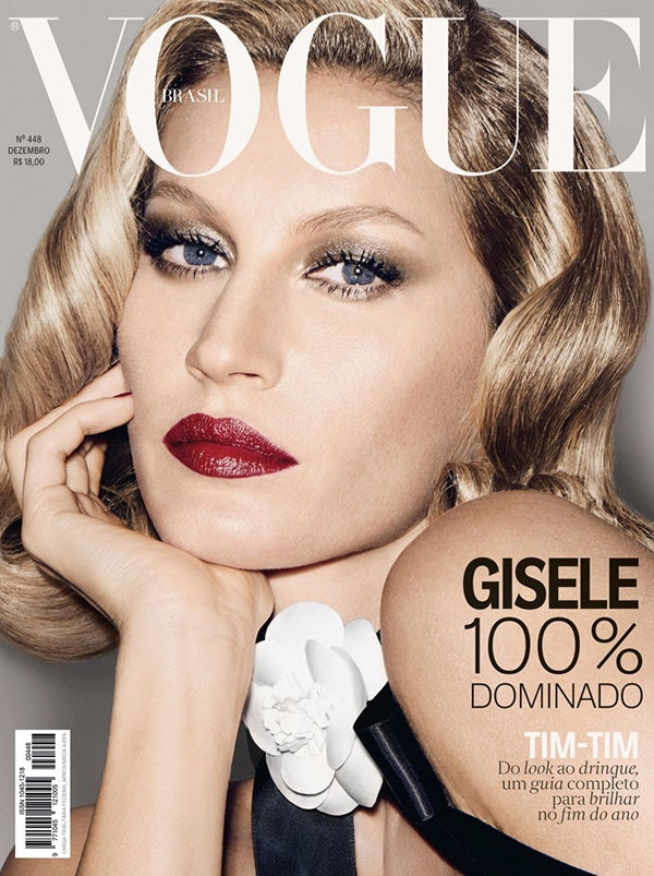 62b3c6e0d9f24 Gisele Bundchen s  Vogue  Brazil Cover Will Make You Want To Try Out  Vintage Curls — PHOTOS