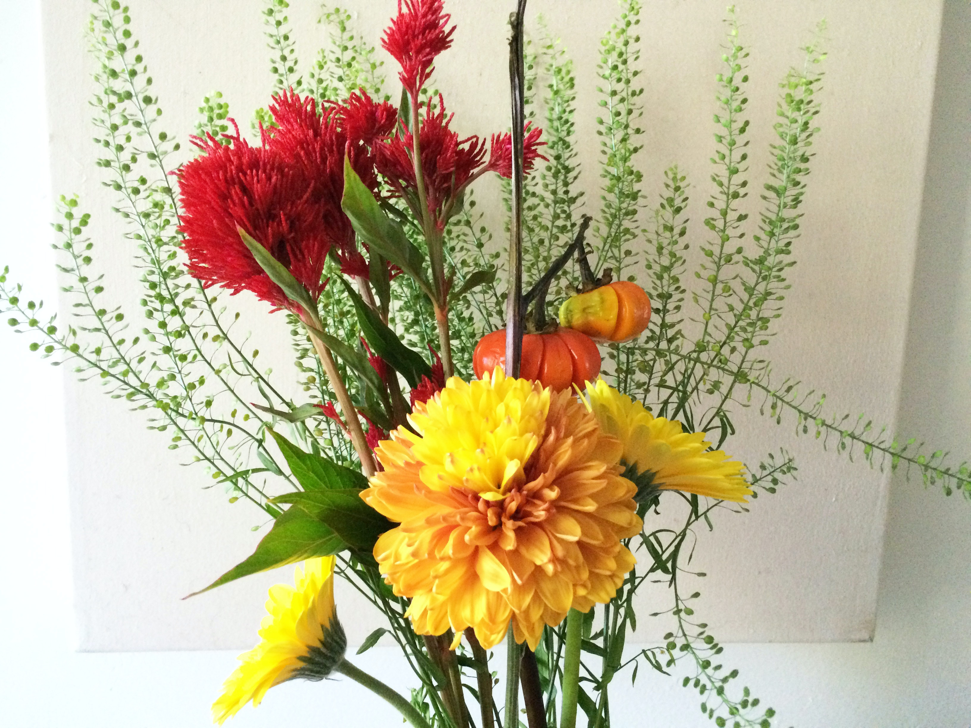 How To Make An Easy Fall Flower Bouquet For Under 30