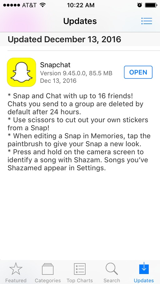How To Use Scissors In Snapchat, Because It's Something You
