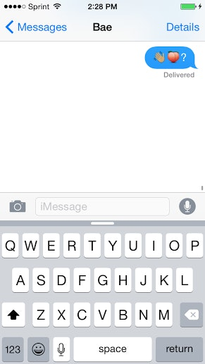 How to flirt with emojis