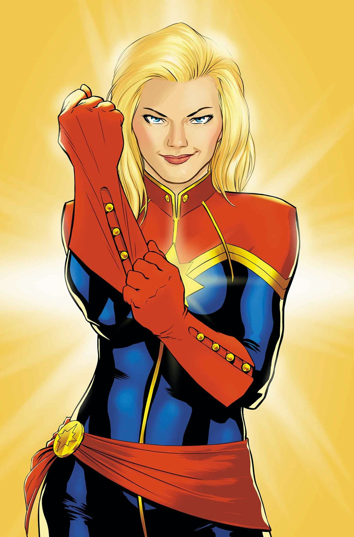 captain marvel description
