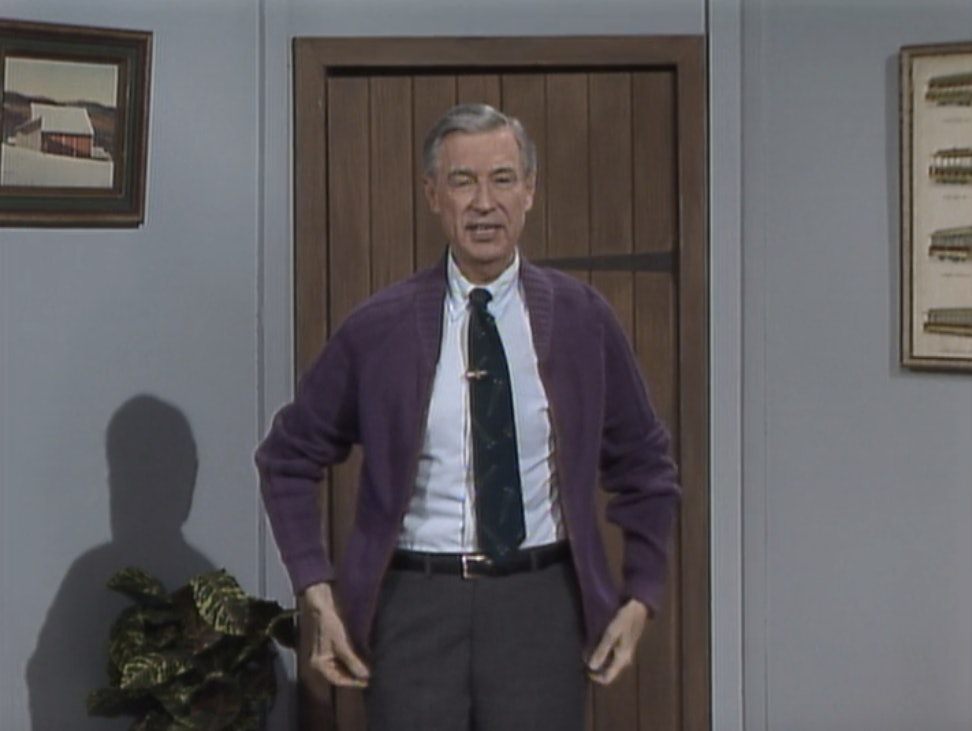 b66e8b76800 8 Mister Rogers' Cardigans That Will Inspire You Now That It's ...