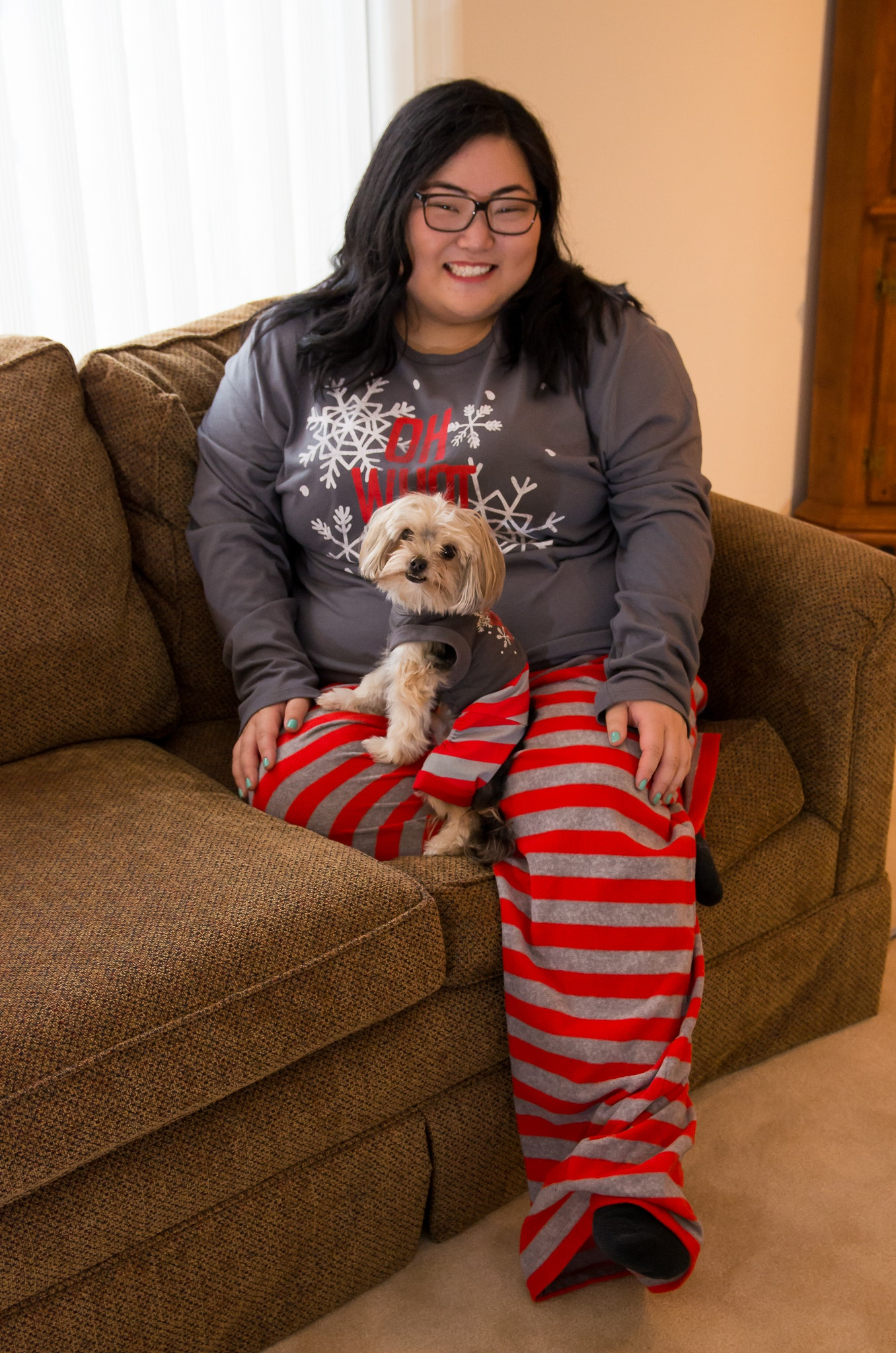 5b24d0b5a320 11 Matching Dog   Owner Pajamas That Are Adorable From Head To Paw ...