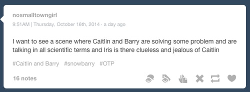 Barry & Caitlin Shouldn't Be A 'Flash' Couple, No Matter How Flirty