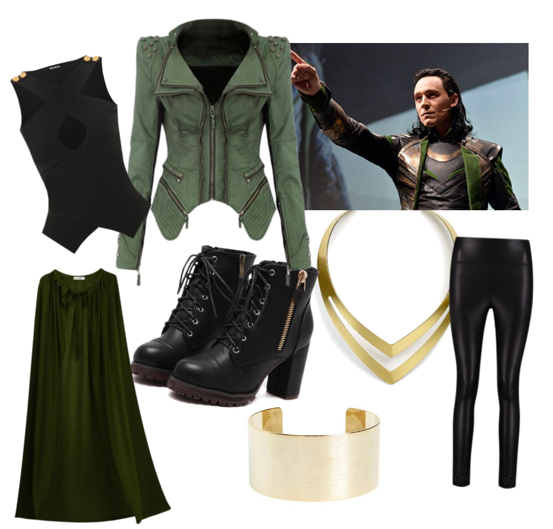 Easy Diy Marvel Halloween Costume Ideas Including Loki
