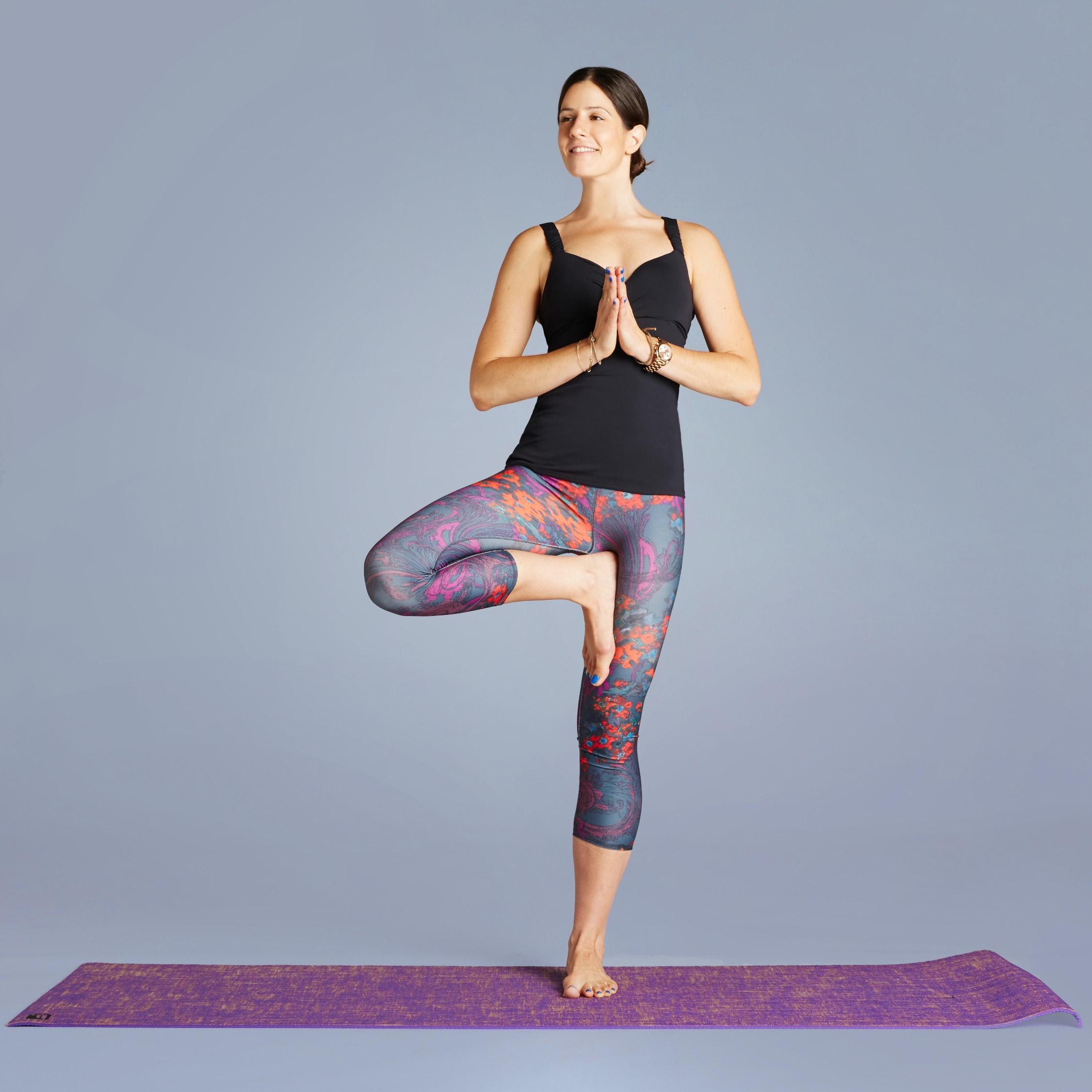 t yoga pose