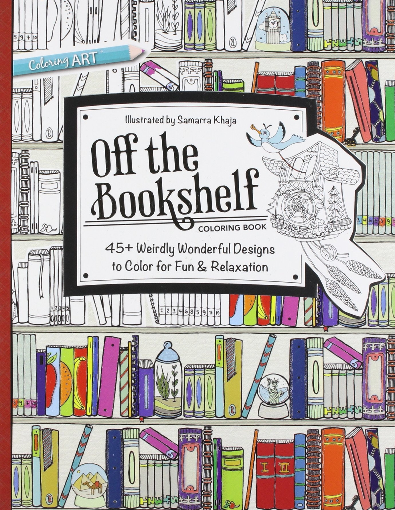 10 Adult Coloring Books Every True Book Lover Needs