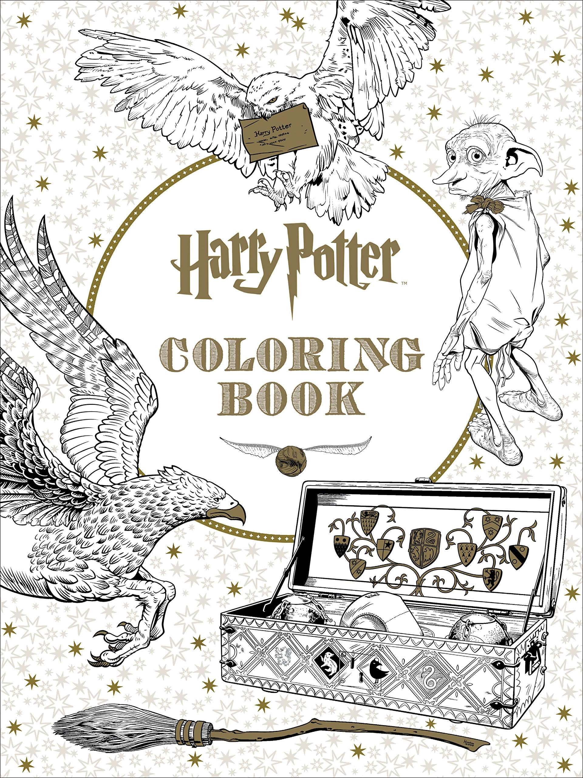 7 Literary Adult Coloring Books That Every Bookworm Needs