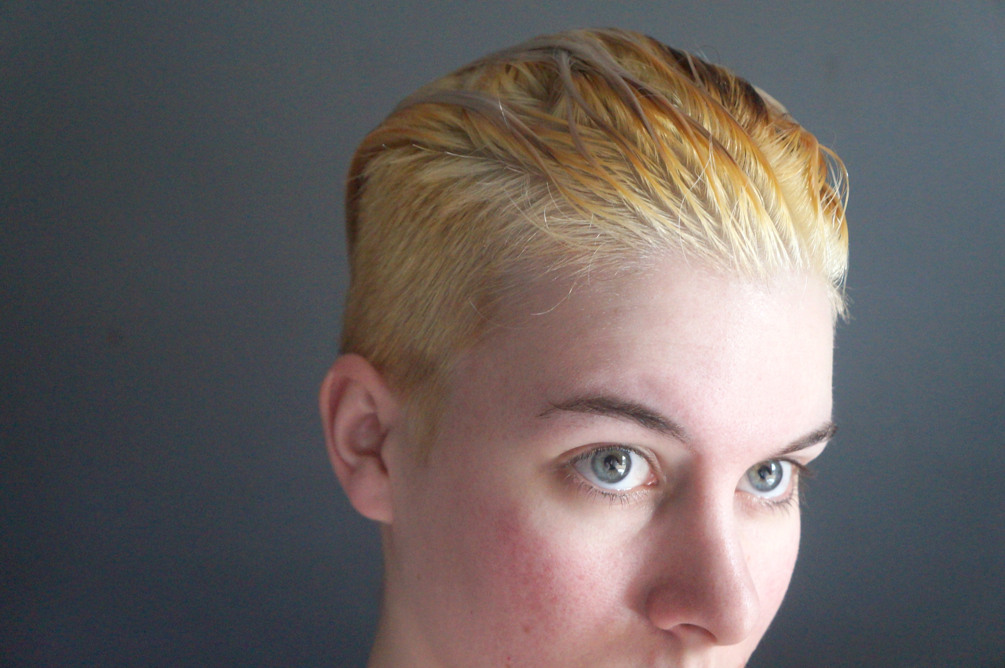 How To Safely Bleach Your Hair At Home For The White Blonde Look Of