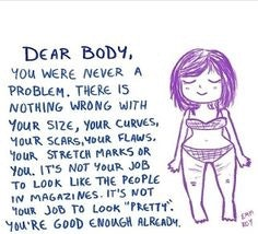 20 Body Image Quotes For Your Next Bad Day Because Your Body Isnt