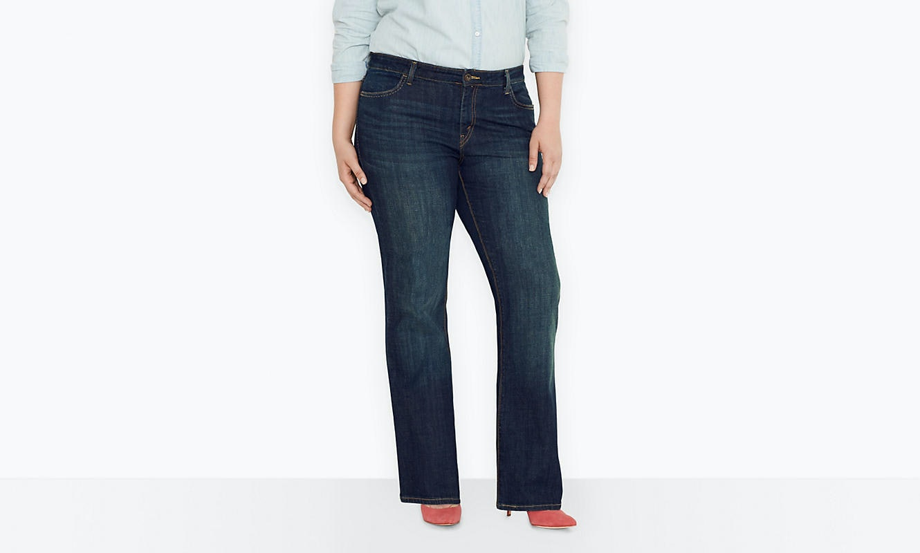 51b1f89bd98 11 Places To Shop Plus Size Denim That Will Leave You Feeling Comfy    Stylish
