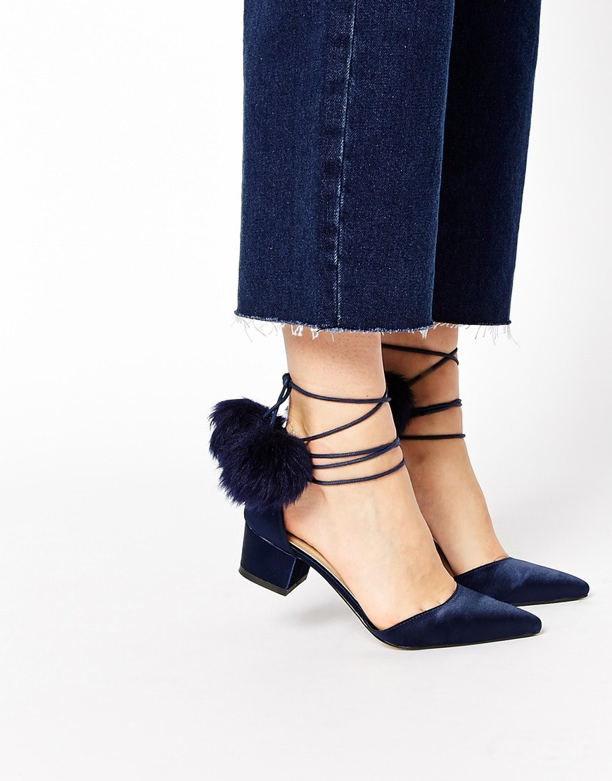 cd314512b6 8 Kitten Block Heels That Prove You Should Take Style Notes From Grandma —  PHOTOS