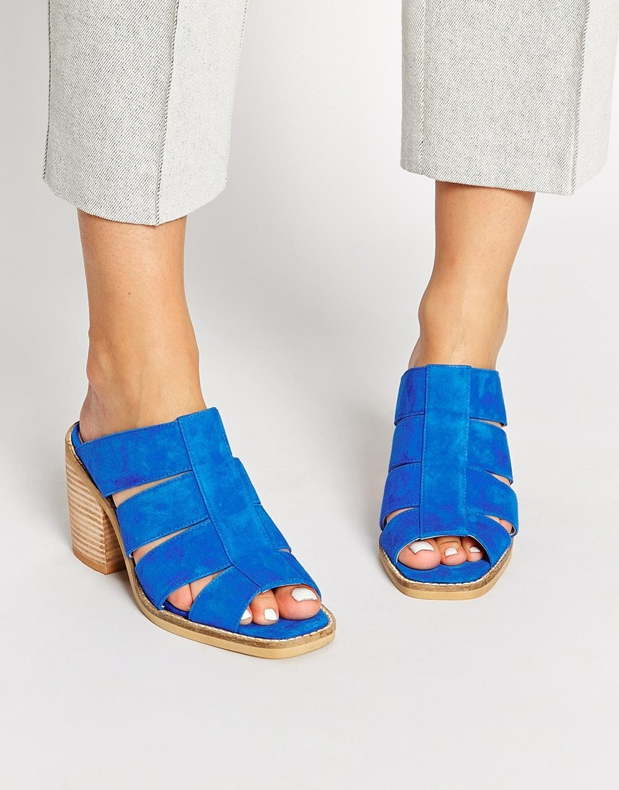 bfe3950675a 11 Suede Slide Sandals To Freshen Up Your Spring Shoe Game — PHOTOS