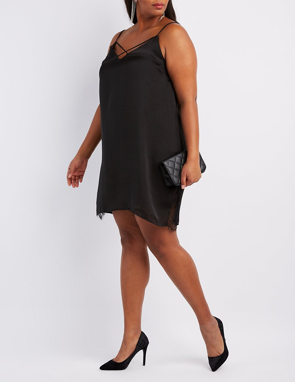 27 Plus Size Dresses For Babes Who Love Satin Silk