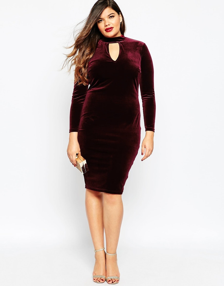 36eca3ee05cff 27 Plus Size Velvet Fashions That Are Too Glam To Miss Out On — PHOTOS