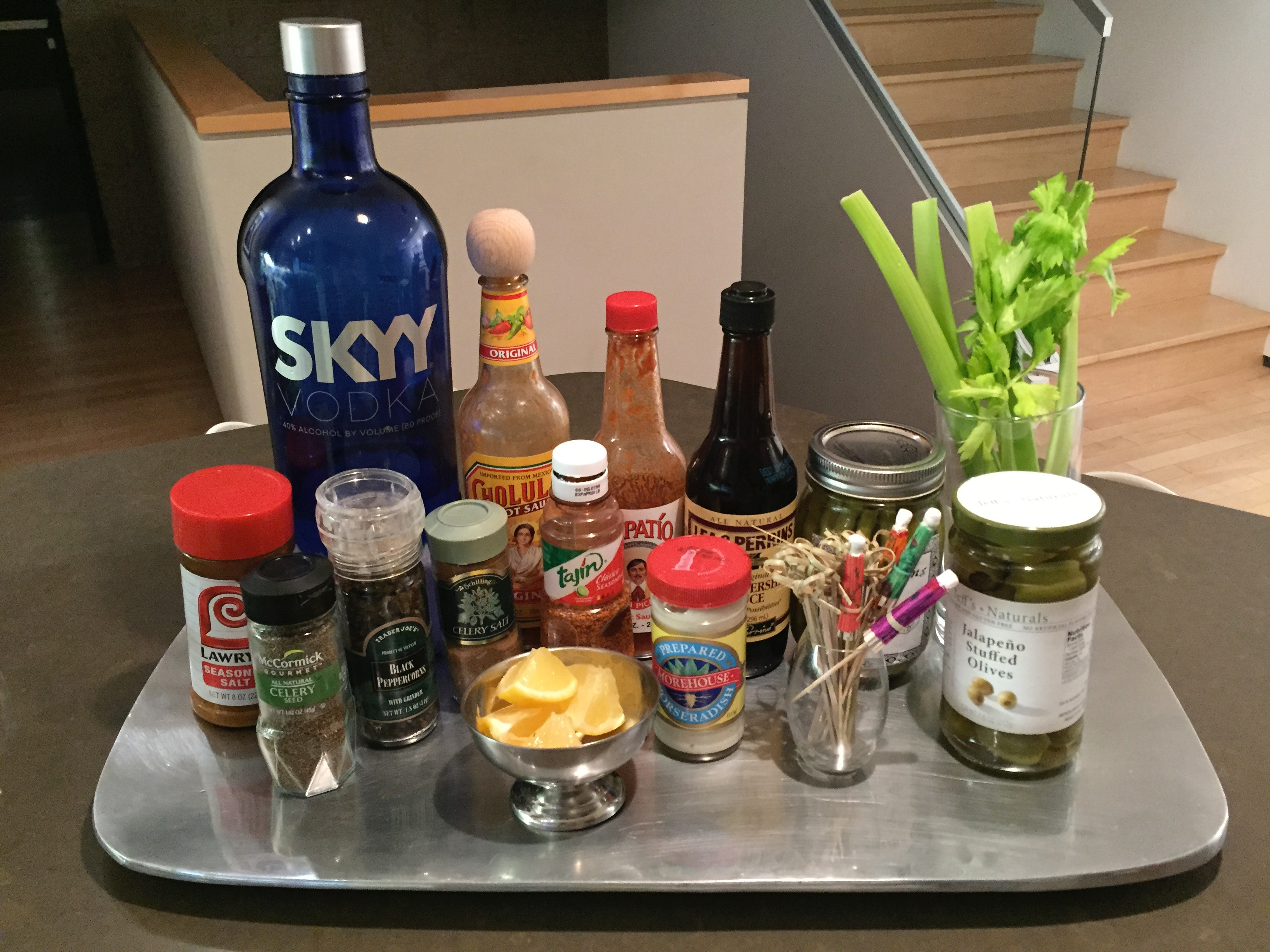 Bloody Mary Bar Ideas Just In Time For Mother's Day