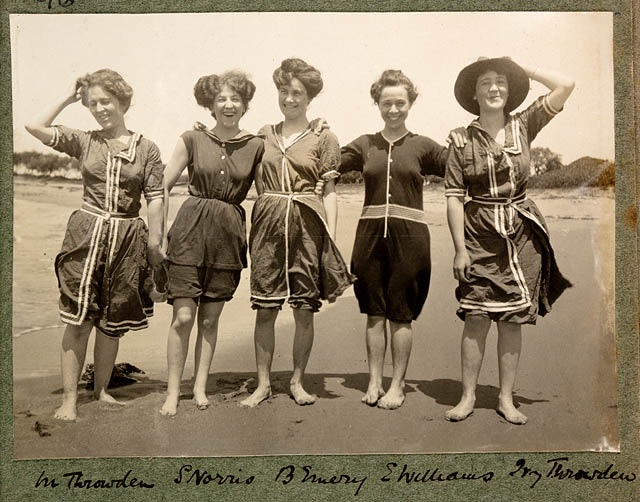 The Evolution Of The Bathing Suit From The 1800s Until Today Proves