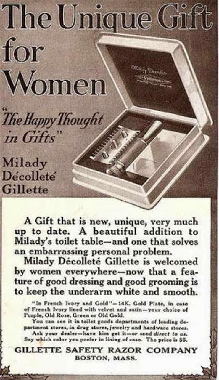 Výsledek obrázku pro old ads women shaving
