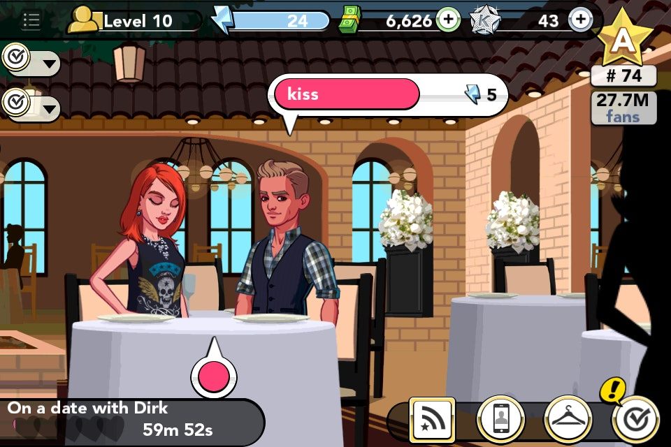 Dating a lister kim k game muse