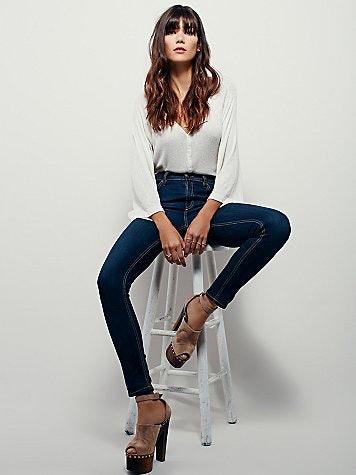 Skinny asian legs