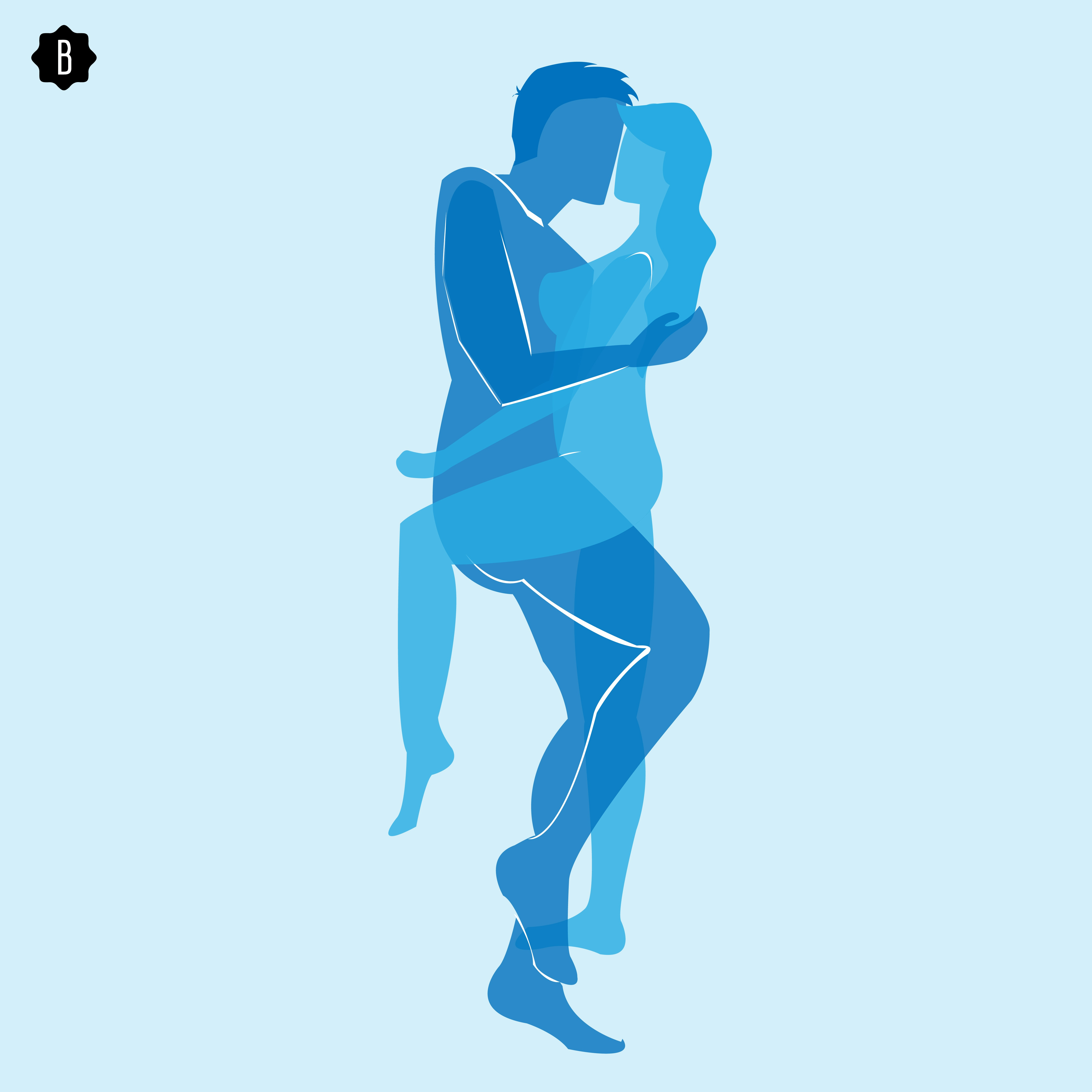 5 best sex positions for women who are fuller or taller than their men