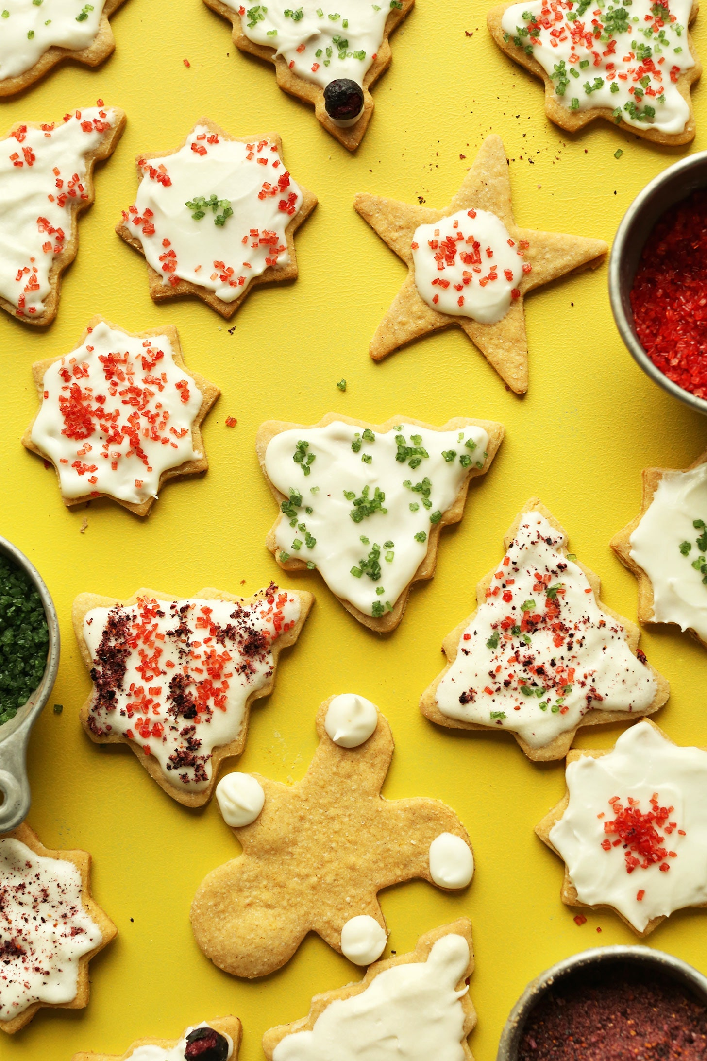 29 Vegan Christmas Cookie Recipes For 2016 That Santa Will Go To Town On