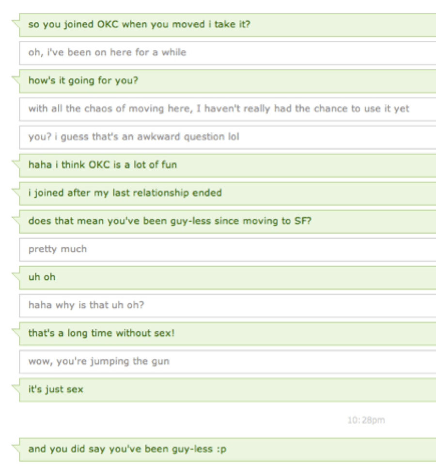 The 23 Types Of OkCupid Messages Every Woman Gets From Men (Because
