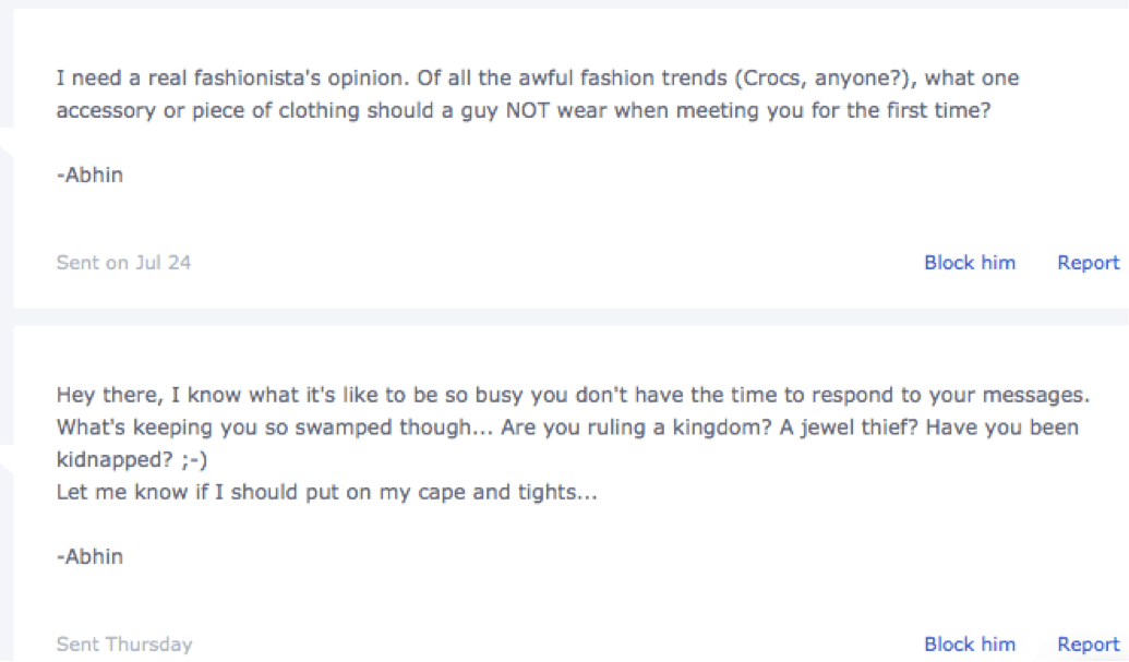 How to get a response on okcupid