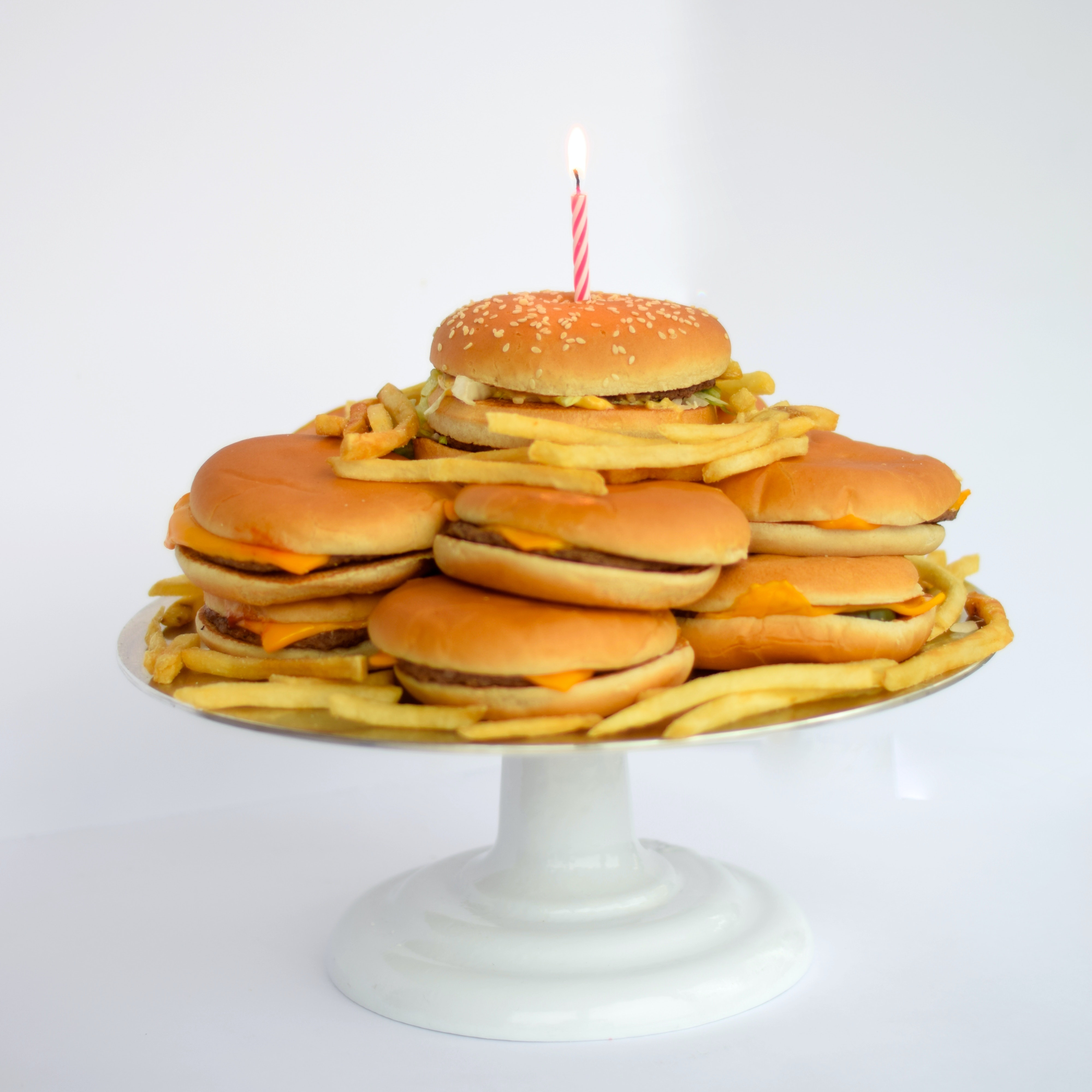 This Cheeseburger Cake Is Exactly What You Need At Your Next Burger