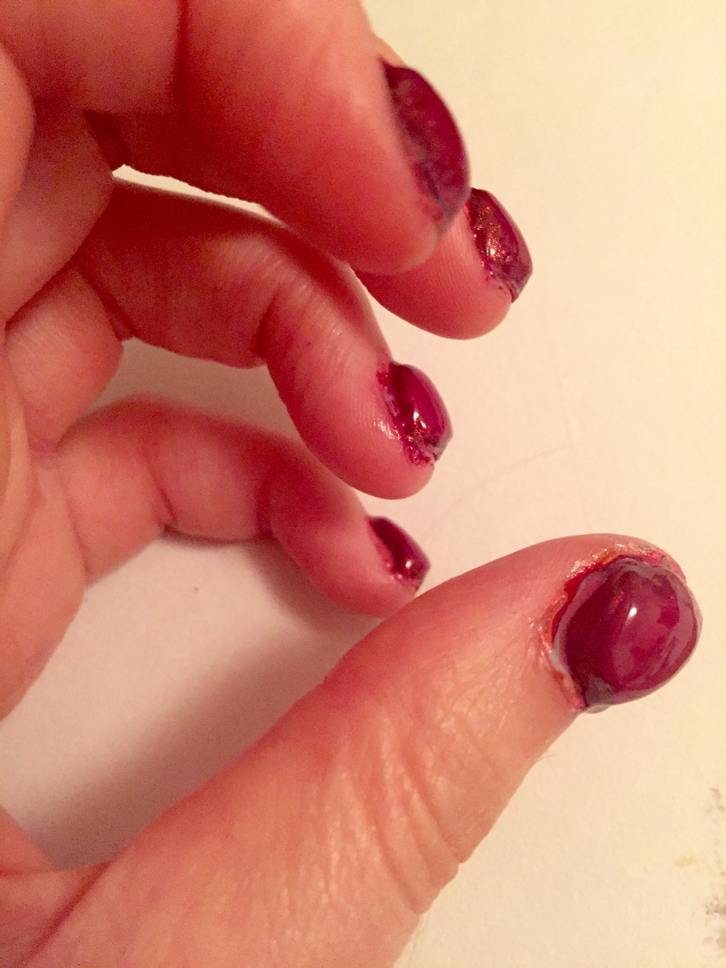 I Attempted The 100 Coats Of Nail Polish Challenge And It Broke Me Photos