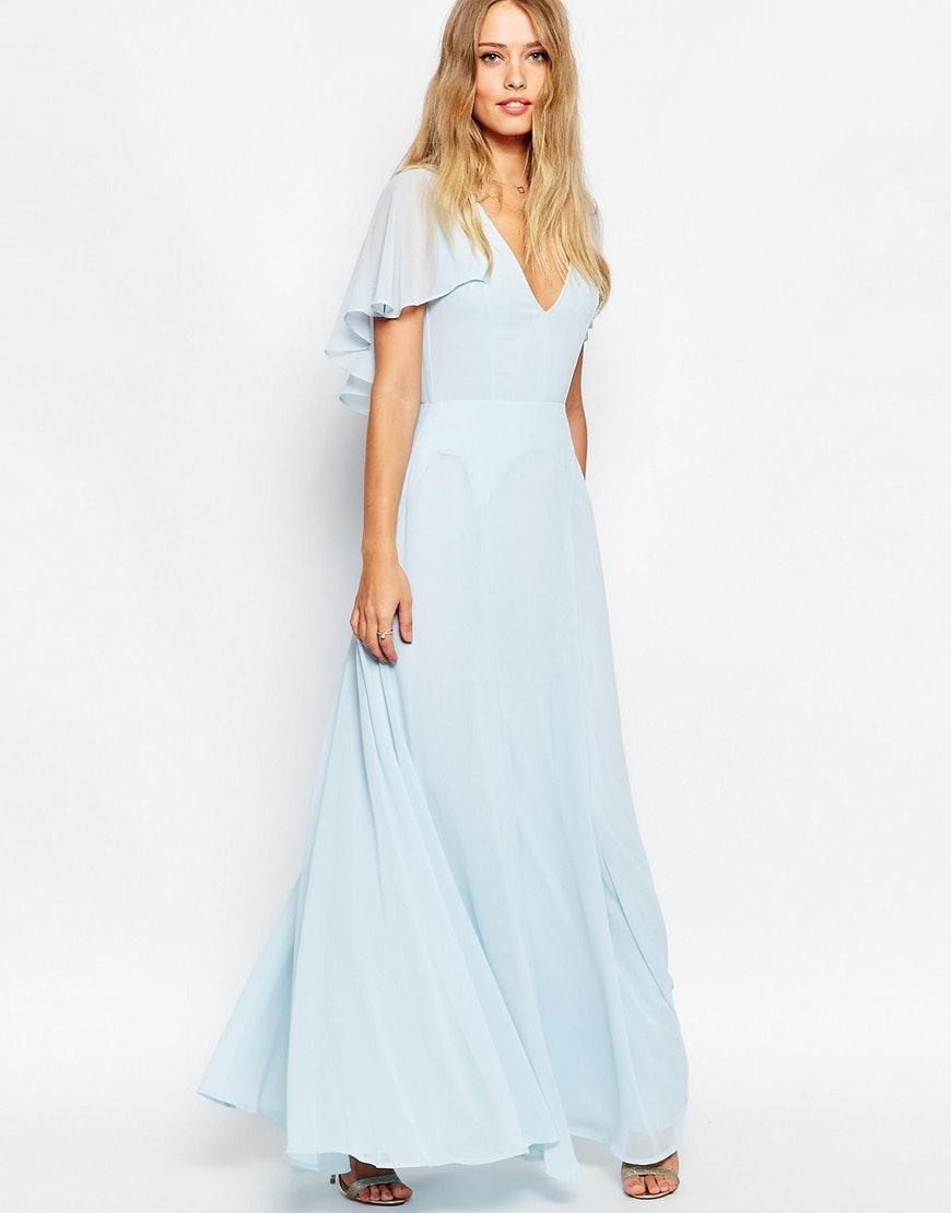 Ice Blue Bridesmaid Dresses Asos