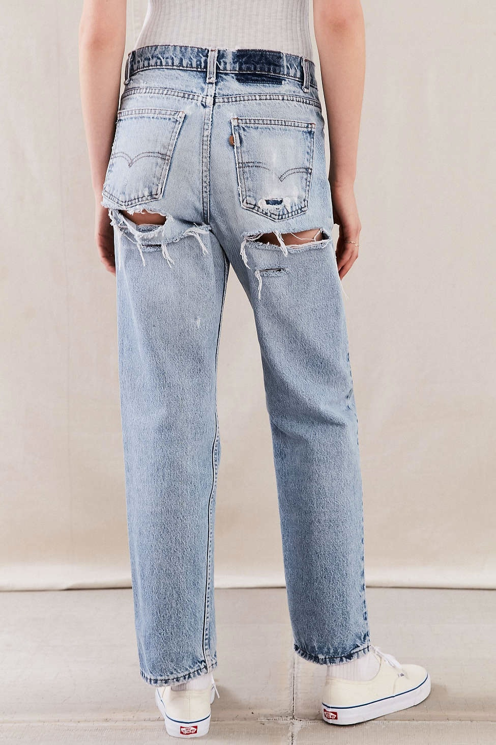 fc1f61d571b Where To Buy Kylie Jenner's Jeans With Holes In The Back For That Sexy Denim  Look — PHOTOS