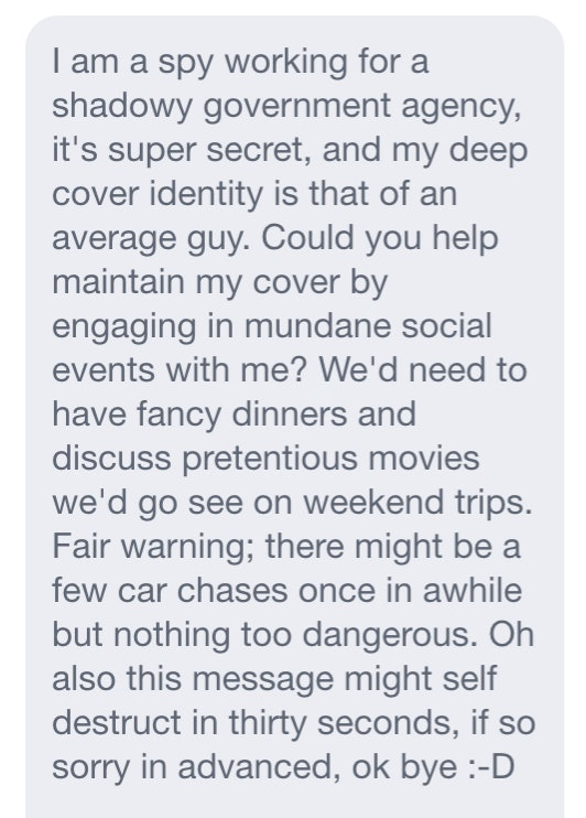 13 OkCupid Messages We've All Received, Because You're Not