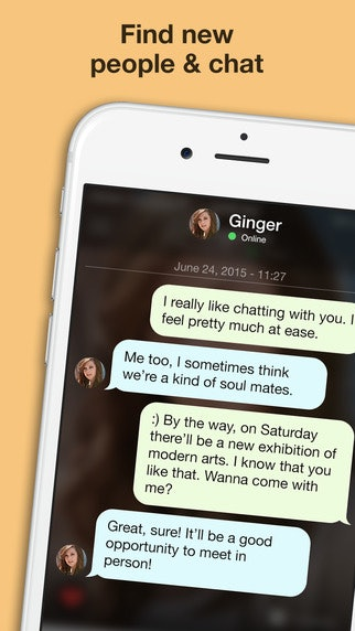 ginger dating apps