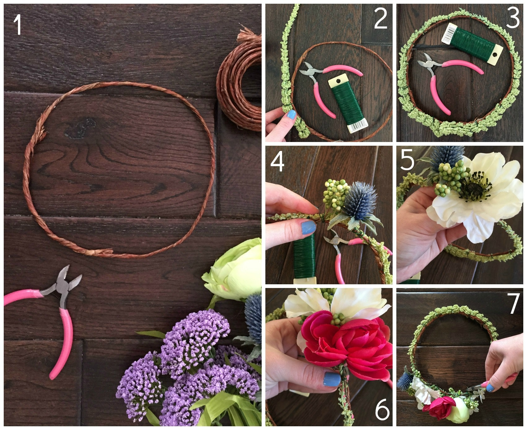 How to make flower crowns in 7 steps or less because its not as how to make flower crowns in 7 steps or less because its not as complicated as you think izmirmasajfo