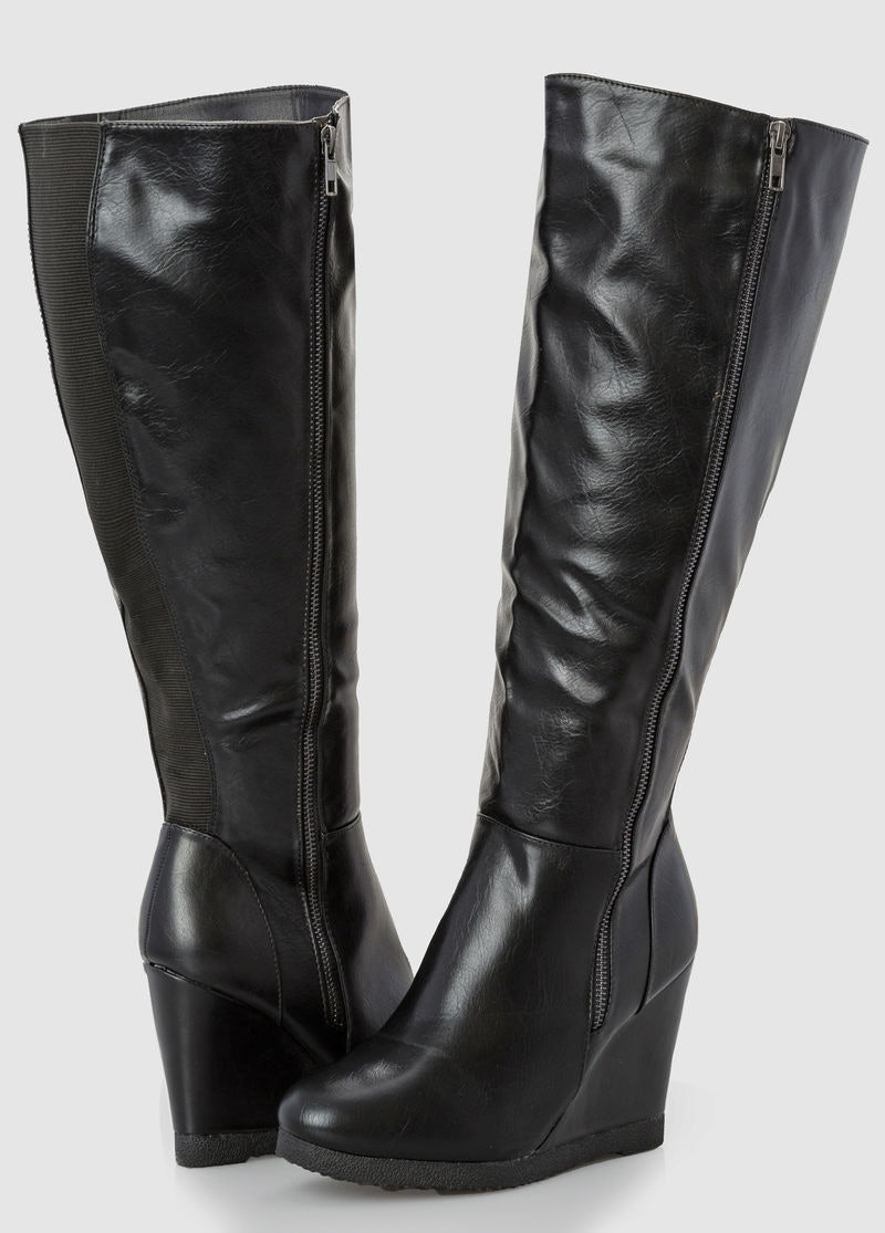 70f703ea382 11 Places To Shop Wide Calf Boots That Will Solve All Your Over The Knee  Problems