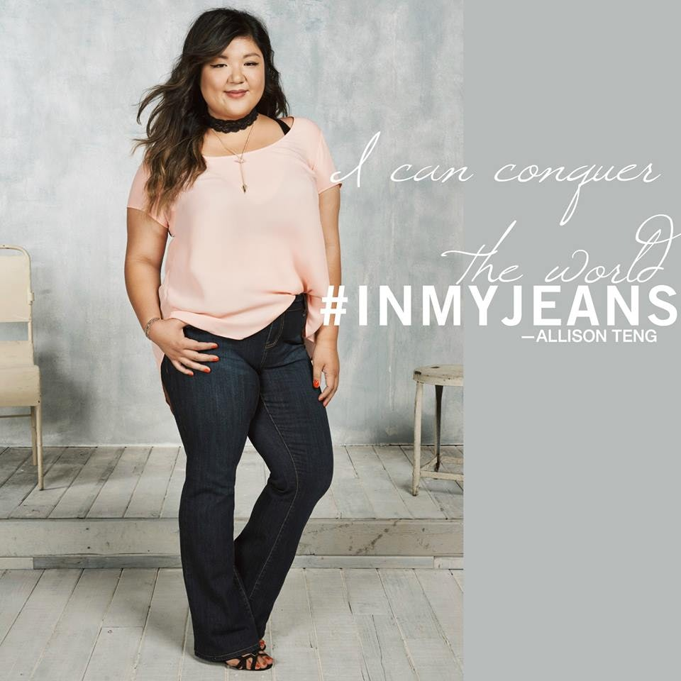 e8b5ef07ca8 Torrid s Inclusive  InMyJeans Denim Campaign Features Sizes 10 To 30 —  PHOTOS