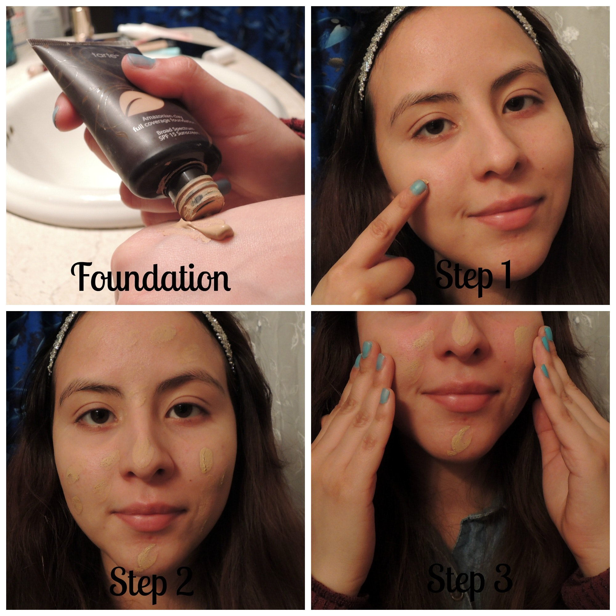How to apply a foundation