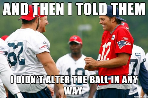 12 Tom Brady Deflategate Denial Memes That Are Just As Frustrated As