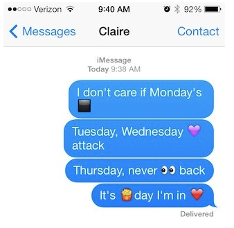 forget i love you here are 6 creative ways to say how you feel with emojis