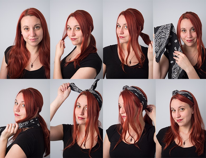 7 Ways To Wear Hair Scarves To Add Some Extra Quirkiness To Your