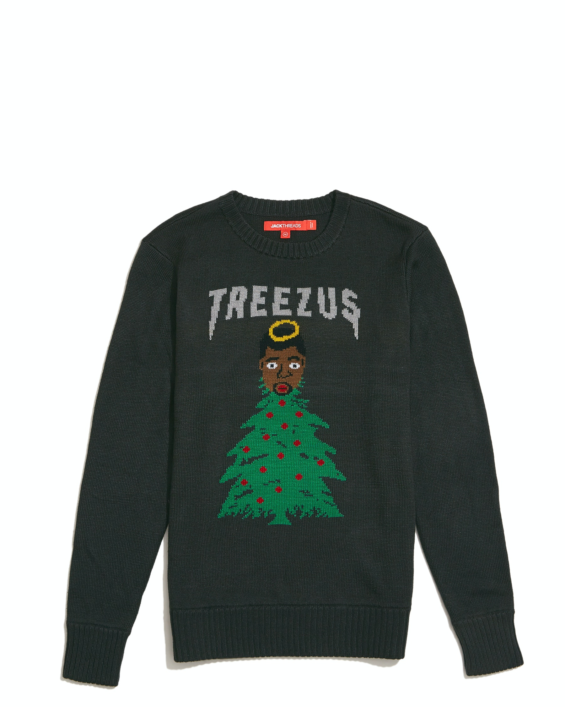 When To Shop JackThread\'s Treezus Sweater, Because It\'s The ...