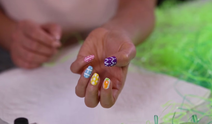 Shay Mitchell S Easter Nail Art Tutorial Is The One Thing You Need To Spruce Up Your Outfit Video
