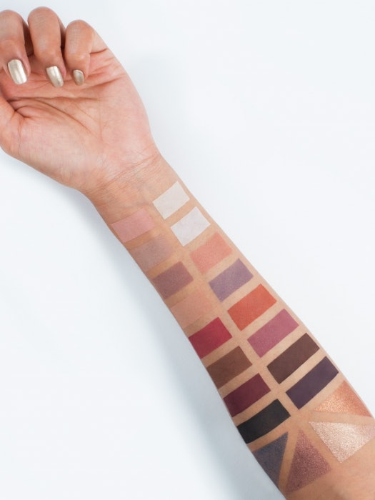 Swatches Of Tarte's Tarteist Pro Amazonian Clay Palette Show How ...