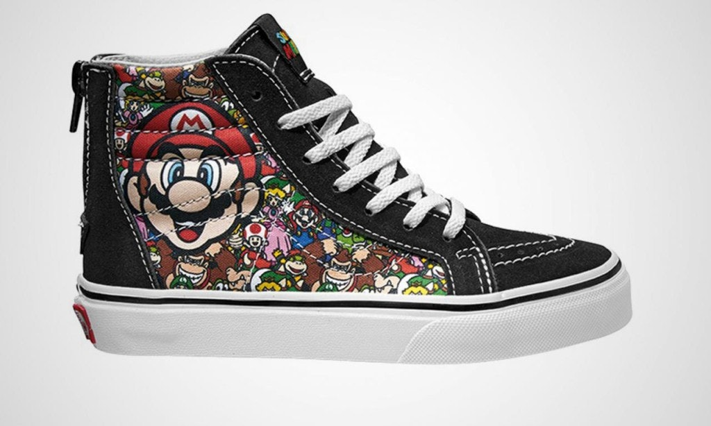 0ea865ed6a What s In The Nintendo x Vans Collection  There s A Design For Every Video  Game Fan