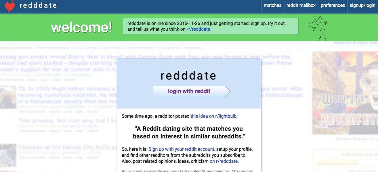 Reddit dating site profile