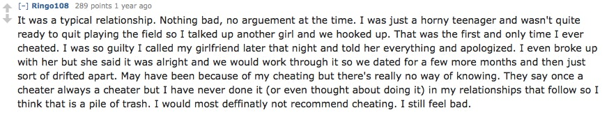Why People Cheat, According To Reddit, Because Infidelity Is More